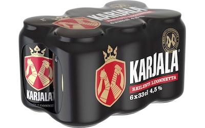 Karjala olut 4,5% 0,33l 6-pack