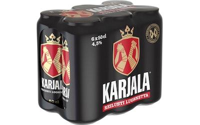 Karjala olut 4,5% 0,5l 6-pack
