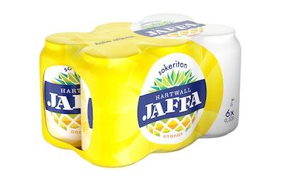 Hartwall Jaffa Ananas sokeriton 0,33l 6-pack