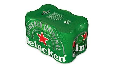 Heineken 5,0% 0,33l tlk 6-pack