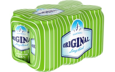 Original Vodka-Lime 5,5% 0,33l 6-pack