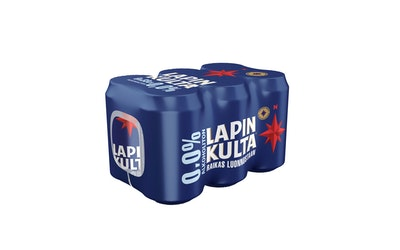 Lapin Kulta 0,0% 0,33l 6-pack