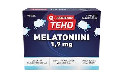Bioteekin teho melatoniini 1,9mg 100tabl