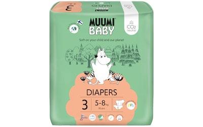Muumi Baby 50kpl teippivaippa 3 5-8kg