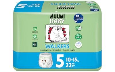Muumi walkers housuvaippa 22kpl maxi+ 7-15kg