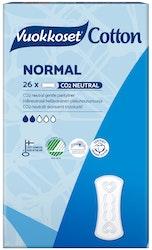 Vuokkoset 26kpl Cotton Normal Sensitive pikkuhousunsuoja