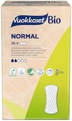 Vuokkoset 26kpl 100% Bio Normal pikkuhousunsuoja