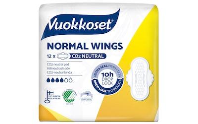 Vuokkoset ohutside 12kpl Normal wings