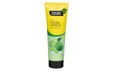 Lemon Juice & Glycerine suihkusaippua 250 ml 2in1 Lime & Jogurtti