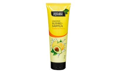 Lemon Juice & Glycerine suihkusaippua 250 ml Avokado & Sitruuna