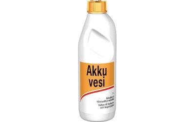 Akkuvesi-100 1L