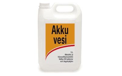 Akkuvesi-100   5 litraa