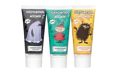 Oxygenol Muumi hammastahna 50ml 3-5 vuotiaille
