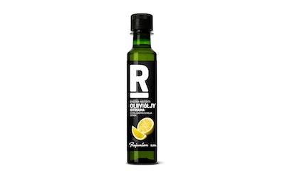 Rajamäen ekstra-neitsyt-oliiviöljy 0,25l sitruuna