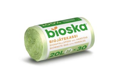 Sanka-Bioska biojätekassi 20l 30kpl