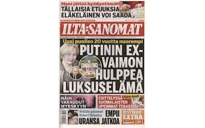 Ilta-Sanomat maanantai sanomalehti