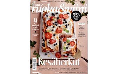 Glorian ruoka&viini aikakauslehti