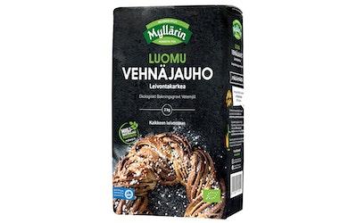 Myllärin Luomu Leivontakarkea vehnäjauho 2kg
