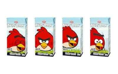 Angry Birds mehujuoma 0,2l mansikka vadelma