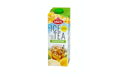 Marli Ice Tea 1l sokeriton lemon jääteejuoma