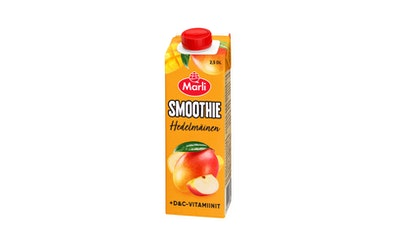 Marli hedelmäinen smoothie + D&C -vitamiinit 2,5dl