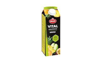 Vital 50 %vähsok hedelmänektari + 10 vitamiinia 1l