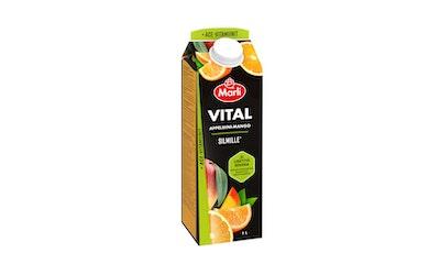 Marli Vital 50% vähem sokeria  appelsiini - mango mehujuoma 1l + ACE - vitamiinit