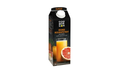God Morgon appelsiini-verigreiptäysmehu 1l