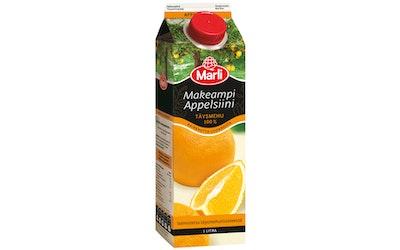 Marli makeampi appelsiinimehu 1l