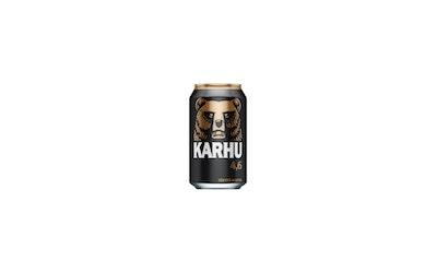 Karhu olut 4,6% 0,33l tlk