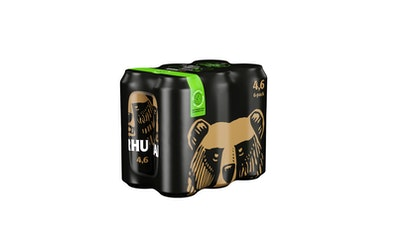 Karhu III olut 0,5l 4,6% 6-pack