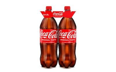 Coca-Cola 1,5l 2-pack virvoitusjuoma