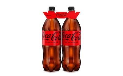 Coca-Cola Zero 1,5l 2-pack virvoitusjuoma