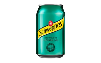 Schweppes Ginger Ale 33cl tlk