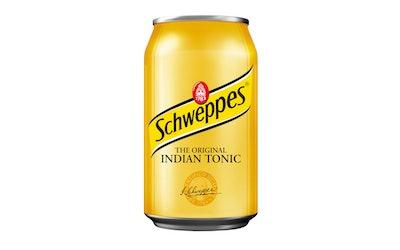 Schweppes IndianTonic 0,33l virvoitusjuoma