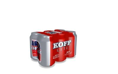Koff Lite olut 4,4% 0,33l 6-pack