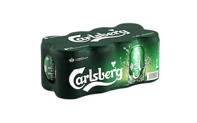Carlsberg olut 4,5% 0,33l tlk 8-pack