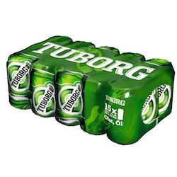 Tuborg Green 4,5% 0,33l tlk 15-pack