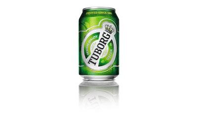 Tuborg Green 4,5% 0,33l tlk