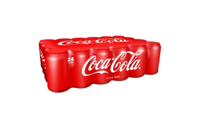 Coca-Cola regular 0,33l tlk 24-pack