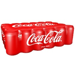 Coca-Cola regular 0,33l tlk 24-pack