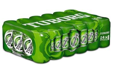 Tuborg Green olut 4,5% 0,33l tlk 24-pack