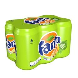 Fanta Exotic 0,33l tlk 6-pack