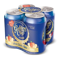 Golden Cap Sweet Classic Apple 4,7% 0,33l 4-pack