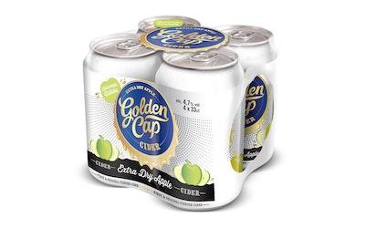 Golden Cap Extra Dry Apple 4,7% 4-pack