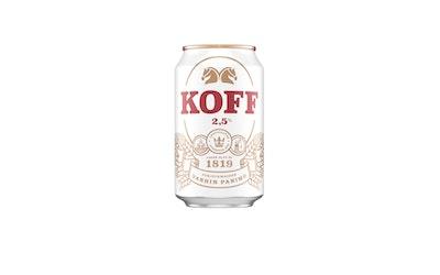 Koff I olut 2,5% 0,33l