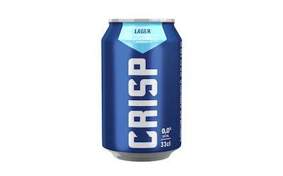 Koff Crisp 0% Vaalea Lager 0,33l