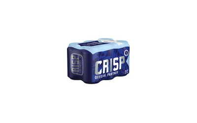 Koff Crisp 0% Vaalea lager 0,33l 6-pack