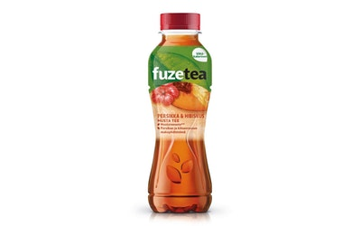 Fuze Tea persikka-hibiskus 0,4l jääteejuoma