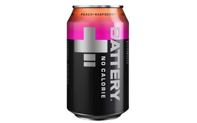 Battery No Calories Peach-Raspberry 0,33l